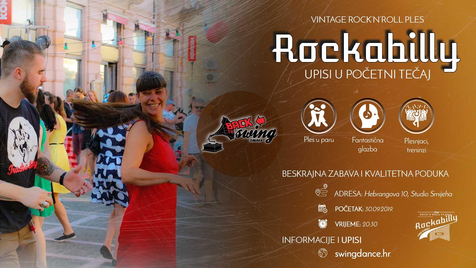 Pocetni Tecaj Rockabilly Plesa Upisi Novosti Lindy Hop Rockabilly Ako