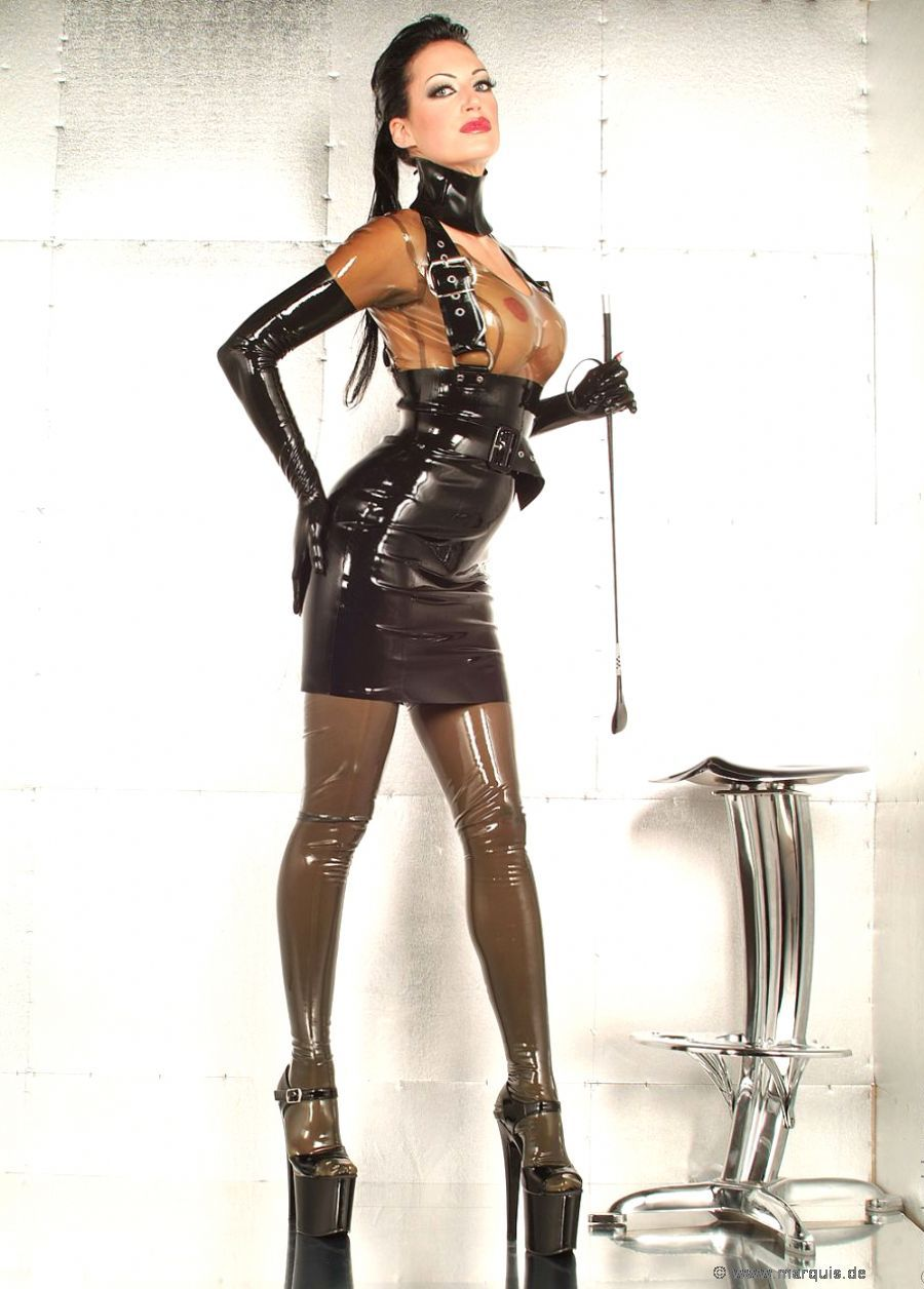 09d919e2bc Angels in Tight Latex Lingerie and High Heels