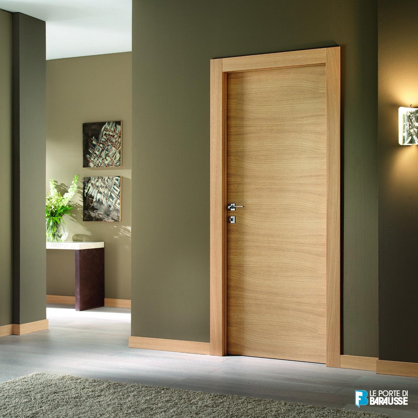 Porte Rovere Sbiancato Spazzolato porta in essenza di rovere sbiancato spazzolato. vanilla di