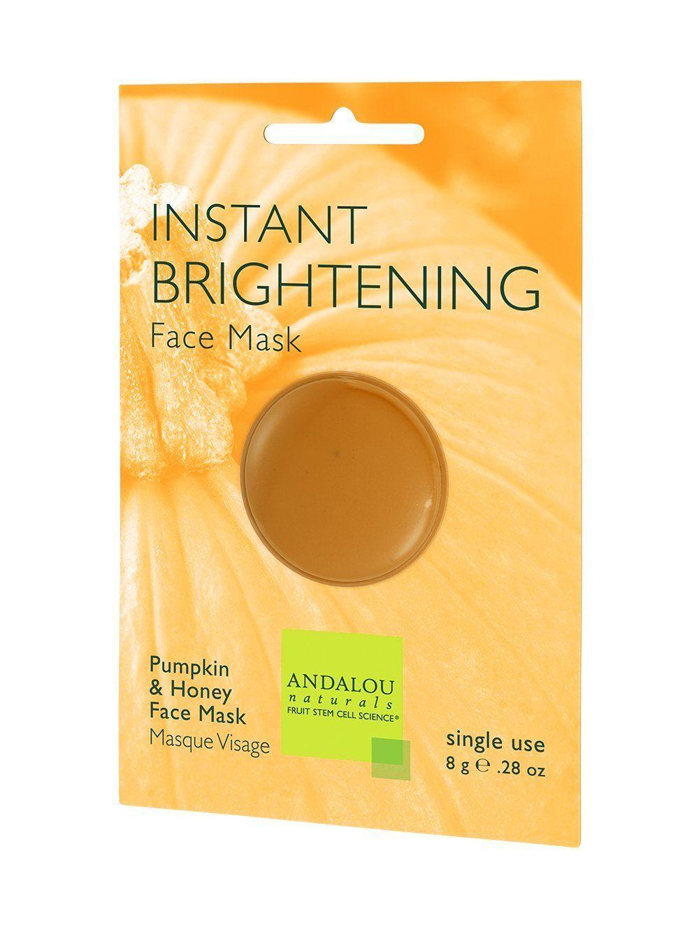 Brightening Pumpkin Honey Glycolic Mask by andalou naturals #4