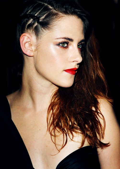 To The Left Sideswept Styles To Try This Season Kristen - Undercut hairstyle diy