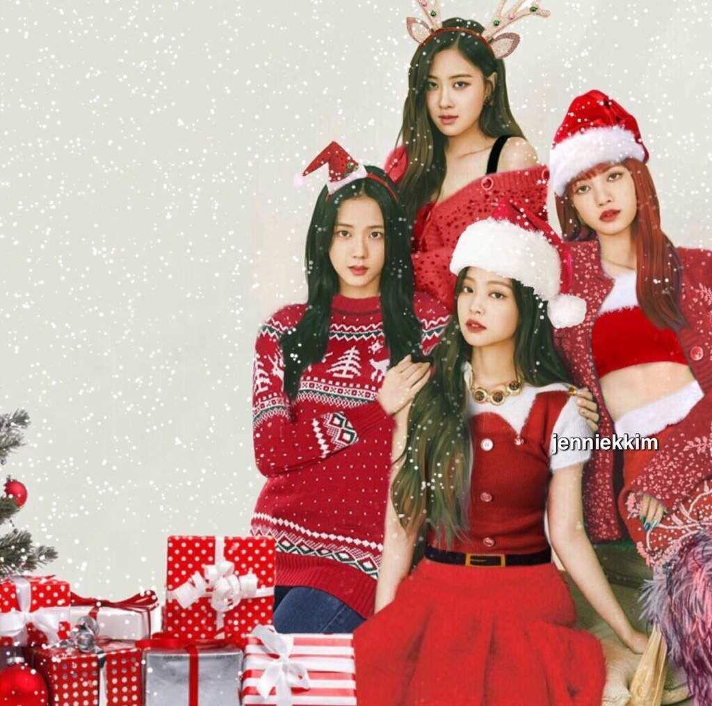 Foto Blackpink Merry Christmas em 2020 Fotos, Poster
