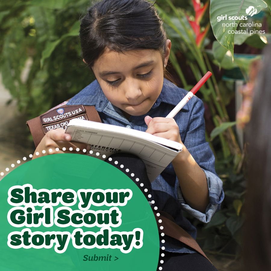 You Inspiration Hut Submit Your Inspiration: Every Girl Scout Has A Story, And We Want To Hear Yours
