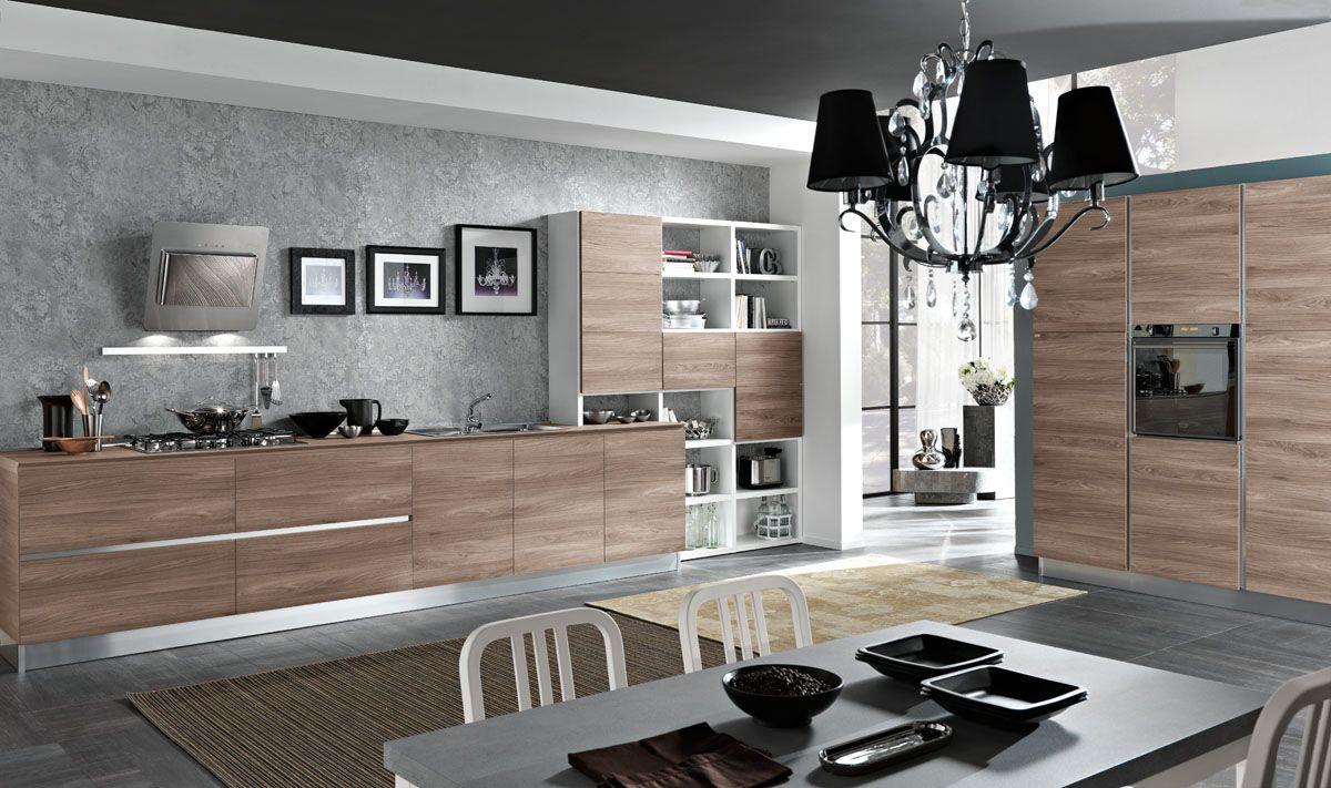 Modello Tokyo – Cucina moderna bicolore minimal | Spar ...