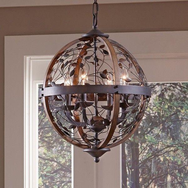 Quoizel chamber 4 light darkest bronze cage chandelier 628 quoizel chamber 4 light darkest bronze cage chandelier 628 liked on polyvore aloadofball Choice Image
