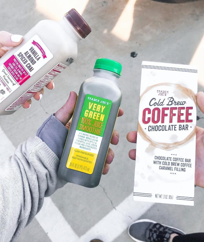 trader joes haul Juice smoothie, Chocolate coffee, Smoothies