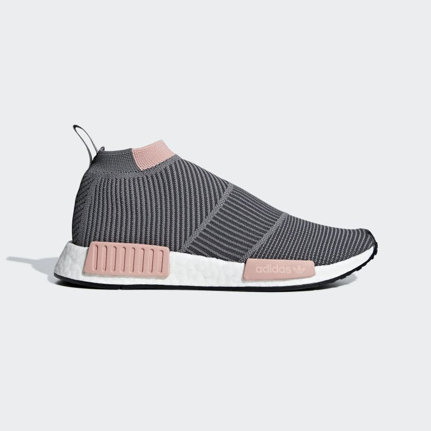 NMD_CS1 Primeknit Shoes Grey 7 Womens in 2019 | Adidas nmd