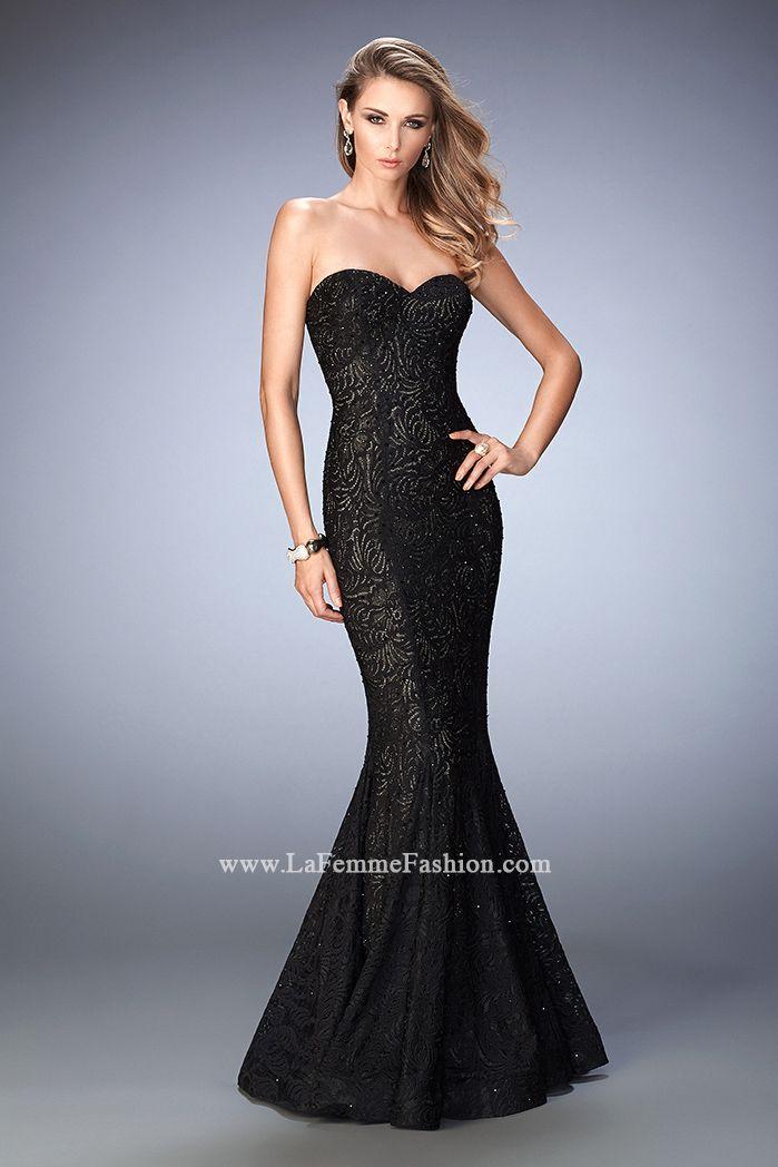Short La Femme Prom Dresses