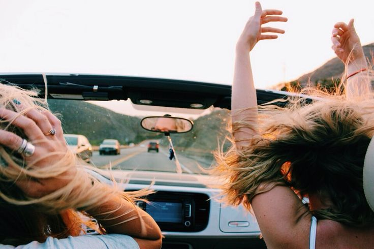 I've always wanted to go on a long road trip with my best friends...