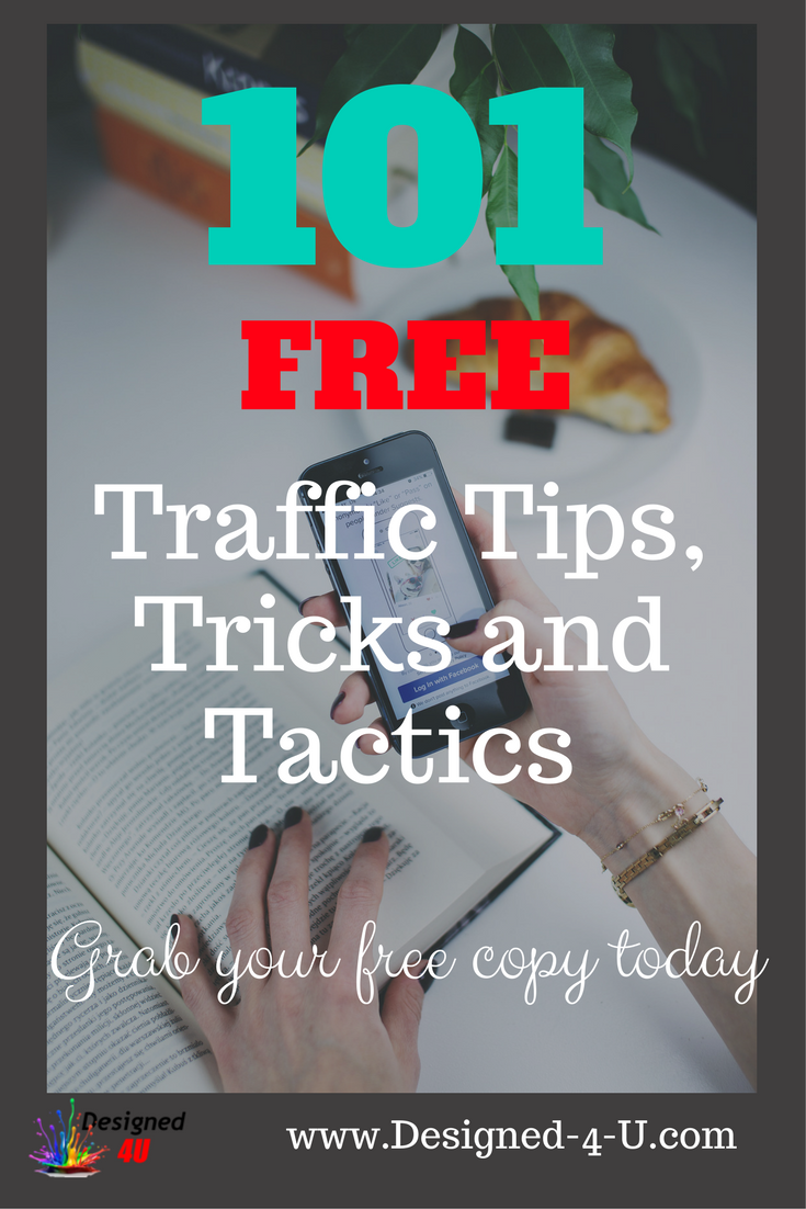 101 Traffic tips and tactics for driving more traffic to your blog, website or affiliate offers. All the tips are for FREE traffic no paid traffic included... - Wordpress - Blogging Tips - WebDesign