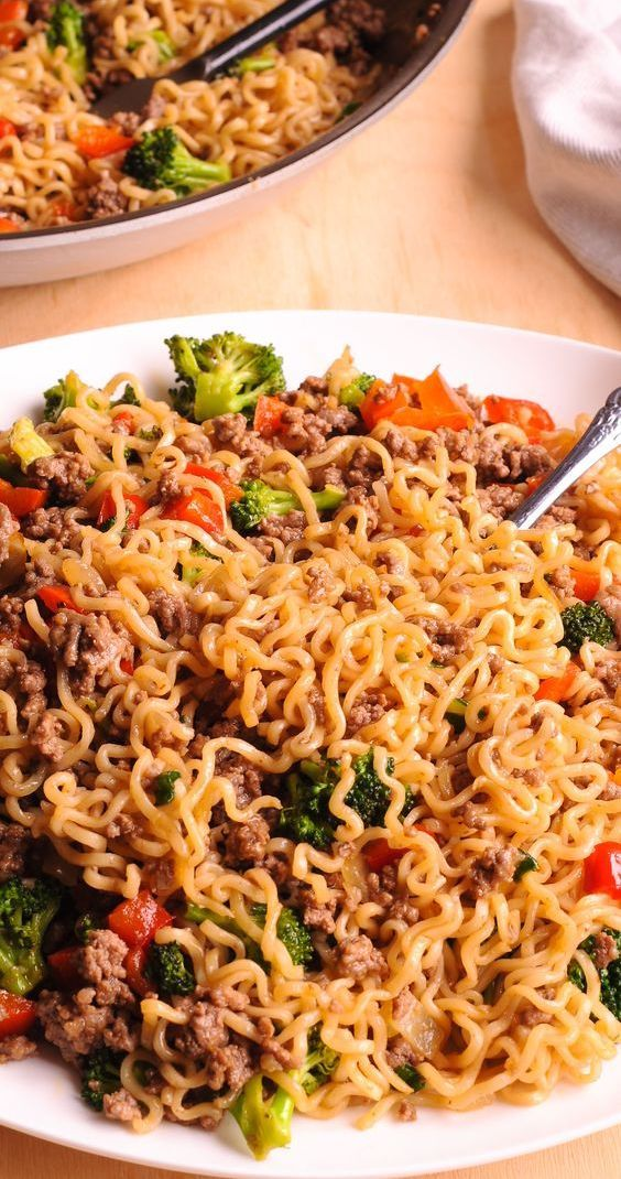Pin By Lashawn Carroll On Good Foods Healthy Ramen Pasta Dishes
