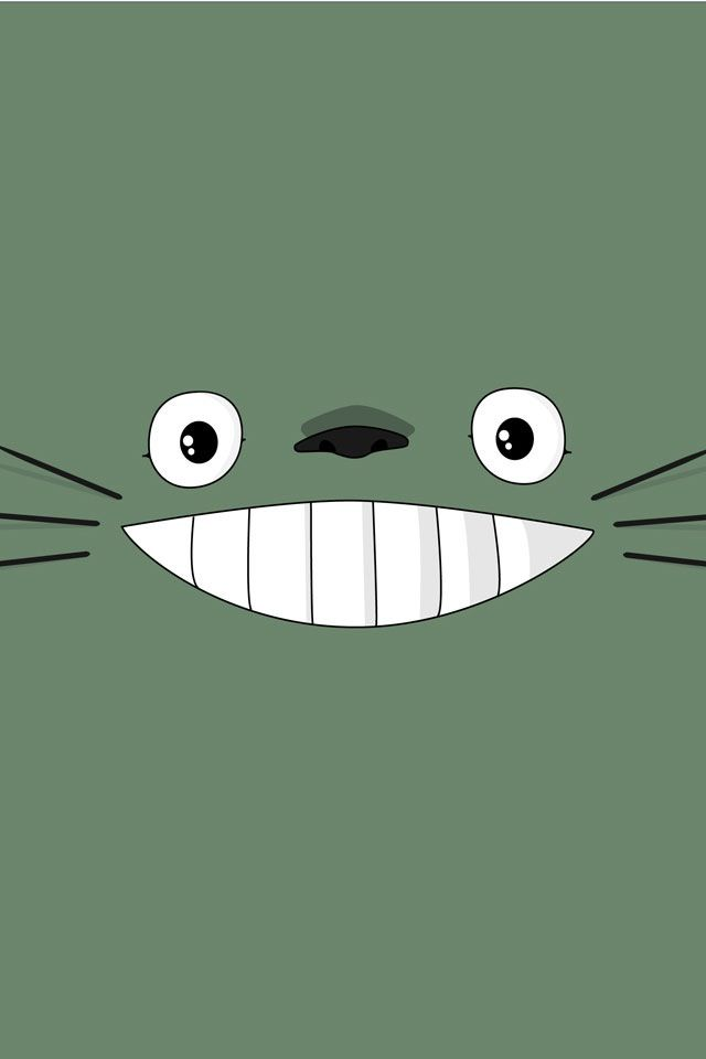 Gray Cat Totoro, My neighbor totoro, Studio ghibli
