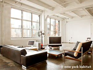 New York Alcove Studio Loft Apartment Living Room Ny 11303 Photo 2 Of 9