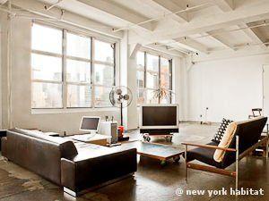 New York Alcove Studio Loft Apartment Living Room Ny 11303 Photo 2 Of 9 Loft Living Apartment Living Room New York Apartment
