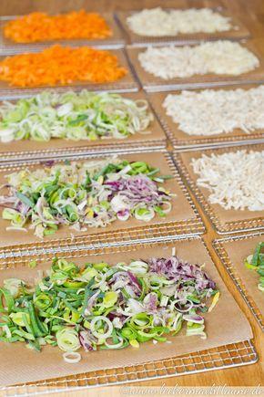 Hausgemachtes Gemüsebrühpulver {grundrezept