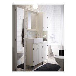 Inspirational 2 Door Floor Cabinet White