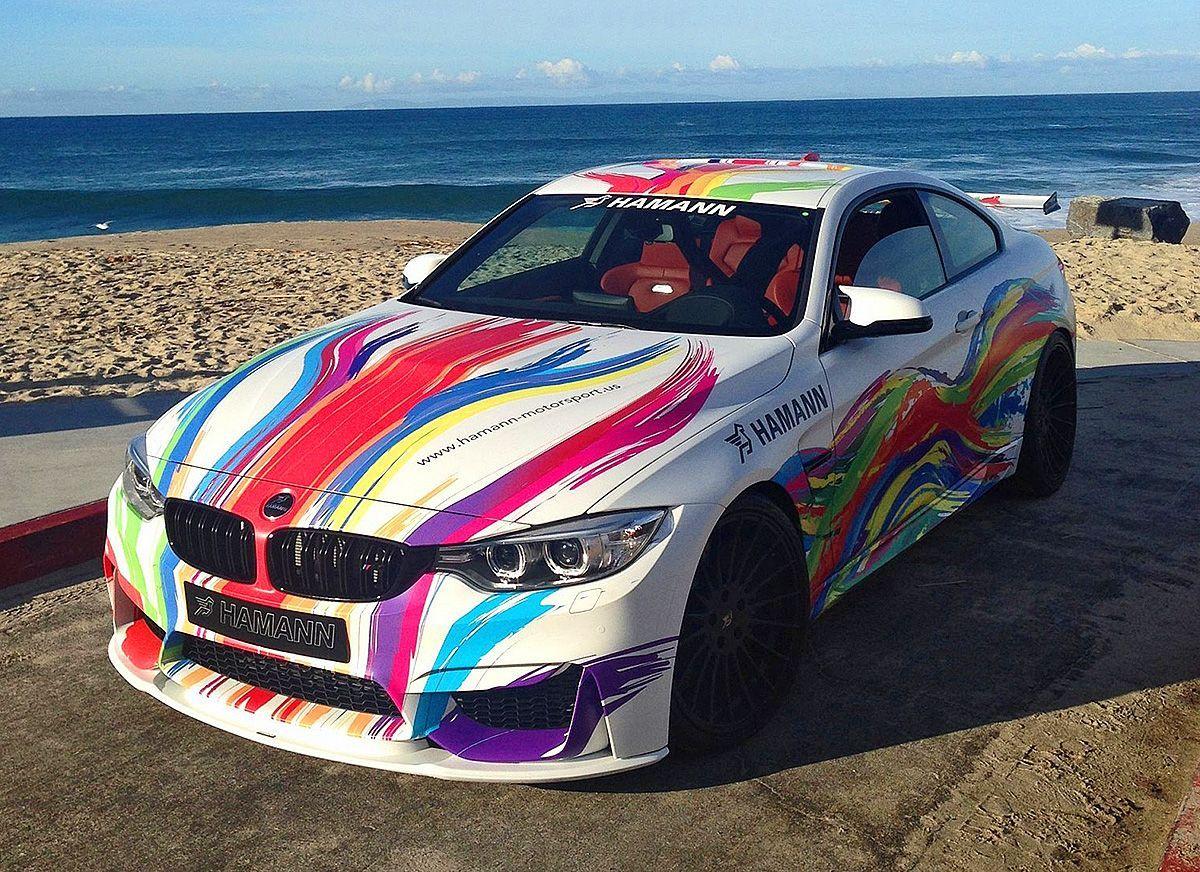 Hamann 2015 Bmw M4 Art Car Bmw Cars Art Cars Car Wrap Design