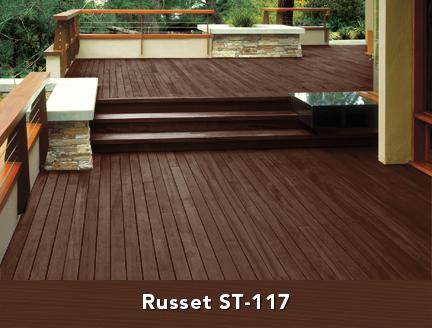 Behr Russet Deck Stain Homestyle In 2019 Deck Stain