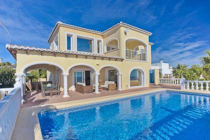 Superbe villa à Moraira pour 8 personnes - 4 chambres, avec piscine
