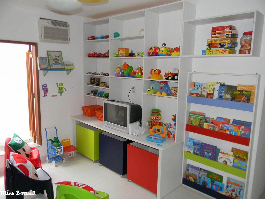 Brinquedoteca Ideias Para Quartos De Meninas Pinterest  ~ Organizando O Quarto De Brinquedos