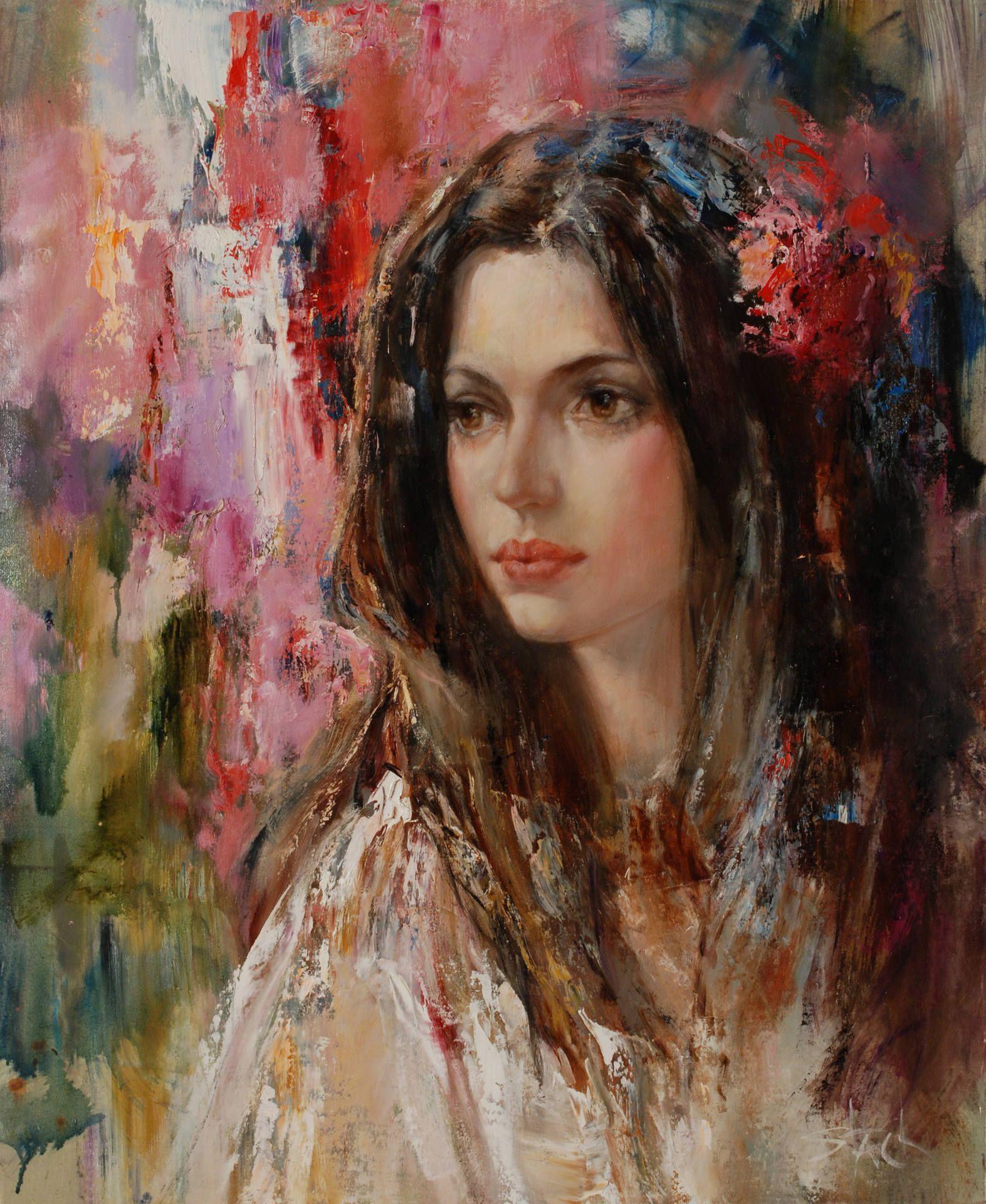 Gypsy Woman Painting Saatchi Art Artist: St...