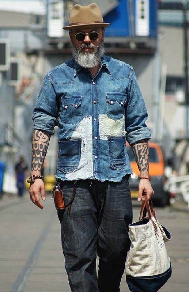 The 22 Most Awesome Older Men We Ve Ever Seen Old Man Fashion Hipster Mens Fashion Mens Outfits