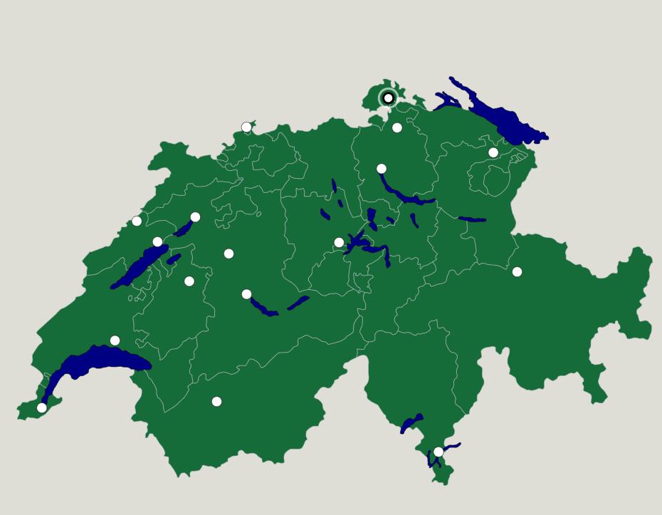 Switzerland Cities Map Quiz Game Seterra is a free map quiz