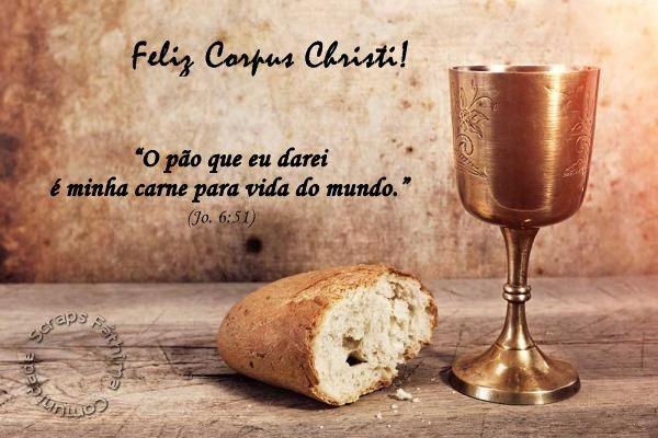 Bom Dia Espiritual: Corpus Christi Frases 4