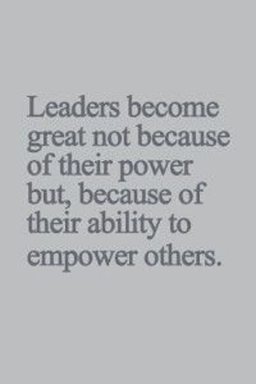 Leaders QUOTES Pinterest