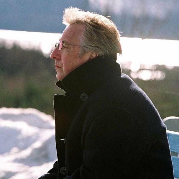 I Love you Mr Rickman — Do you believe that he knows all the power he has...