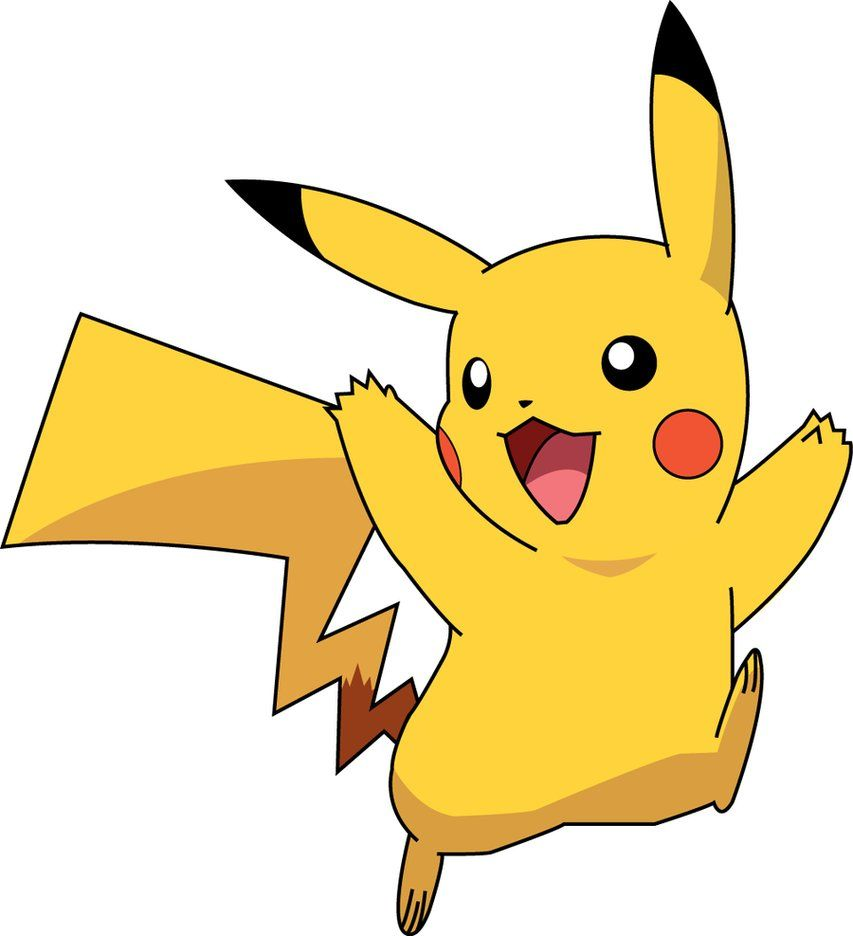 pikachu with scruffy hair clipart best clipart best pokemon rh pinterest ca pikachu clipart black and white pokemon pikachu clipart