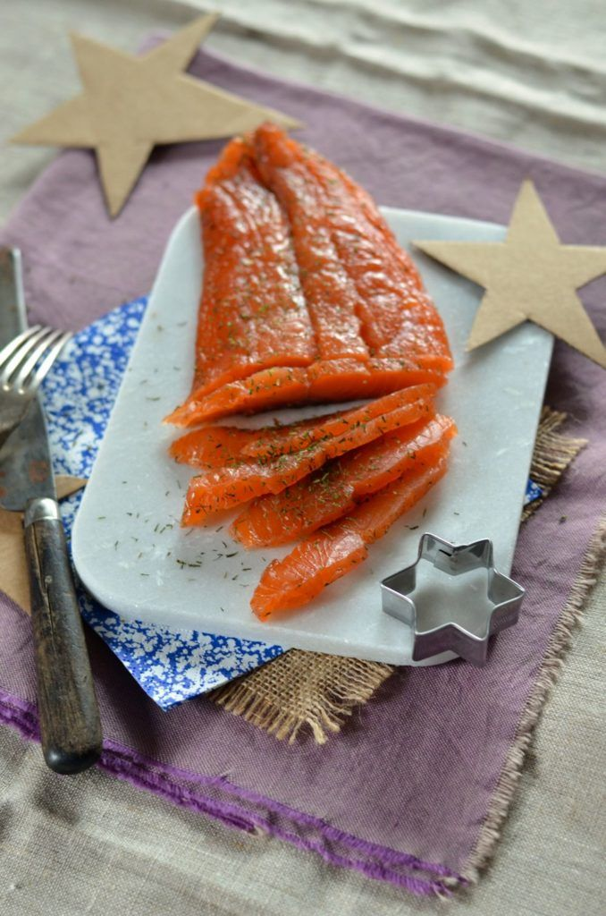 Saumon gravlax maison - Recette facile - Tangerine Zest