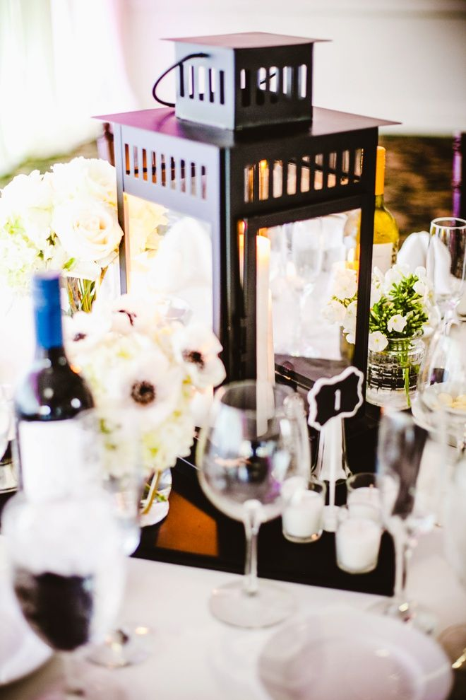 Check Out This Awesome Diy Black And White Wedding With A Color Theme
