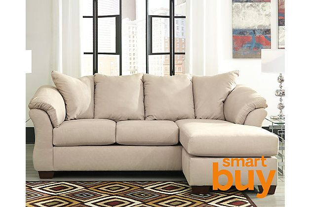 Stone Darcy Sofa Chaise View 1 Ashley Furniture Sofas Chaise
