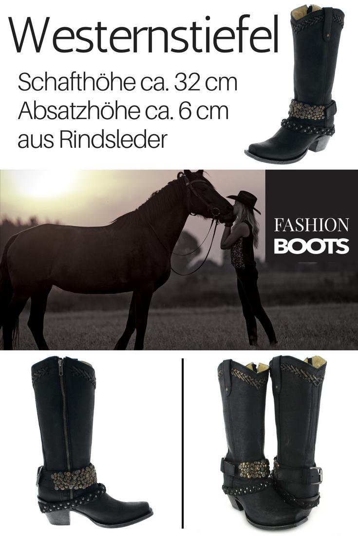 Corral Boots G1397 Black Damen Westernstiefel schwarz