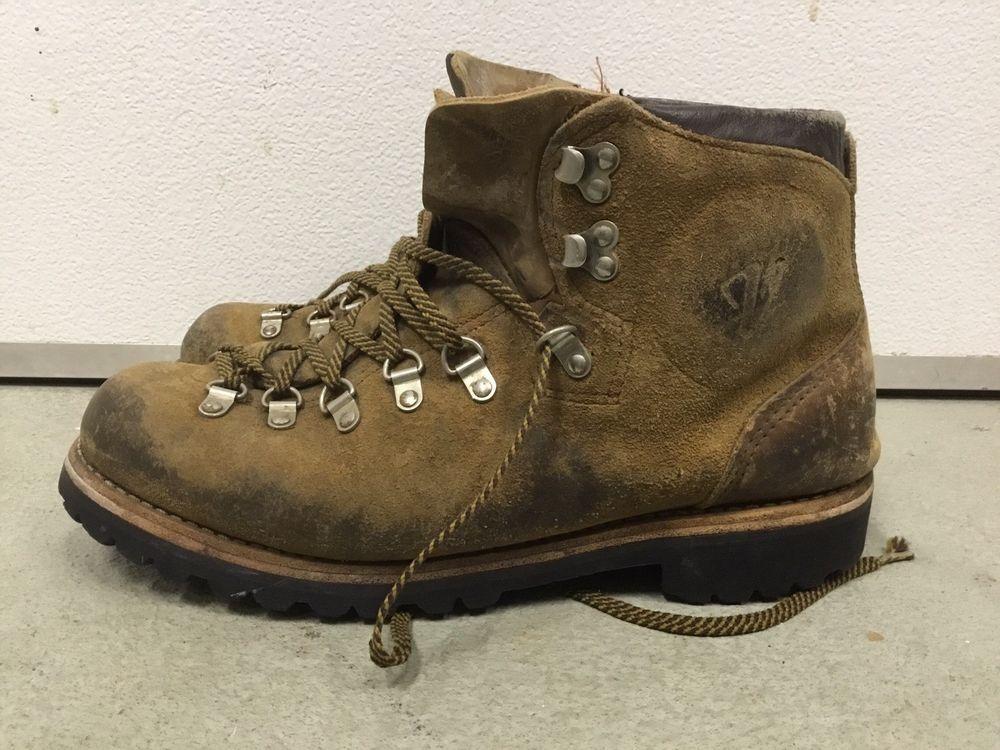 Vintage hiking boots vibram sole vasque size 10 fashion clothing ...