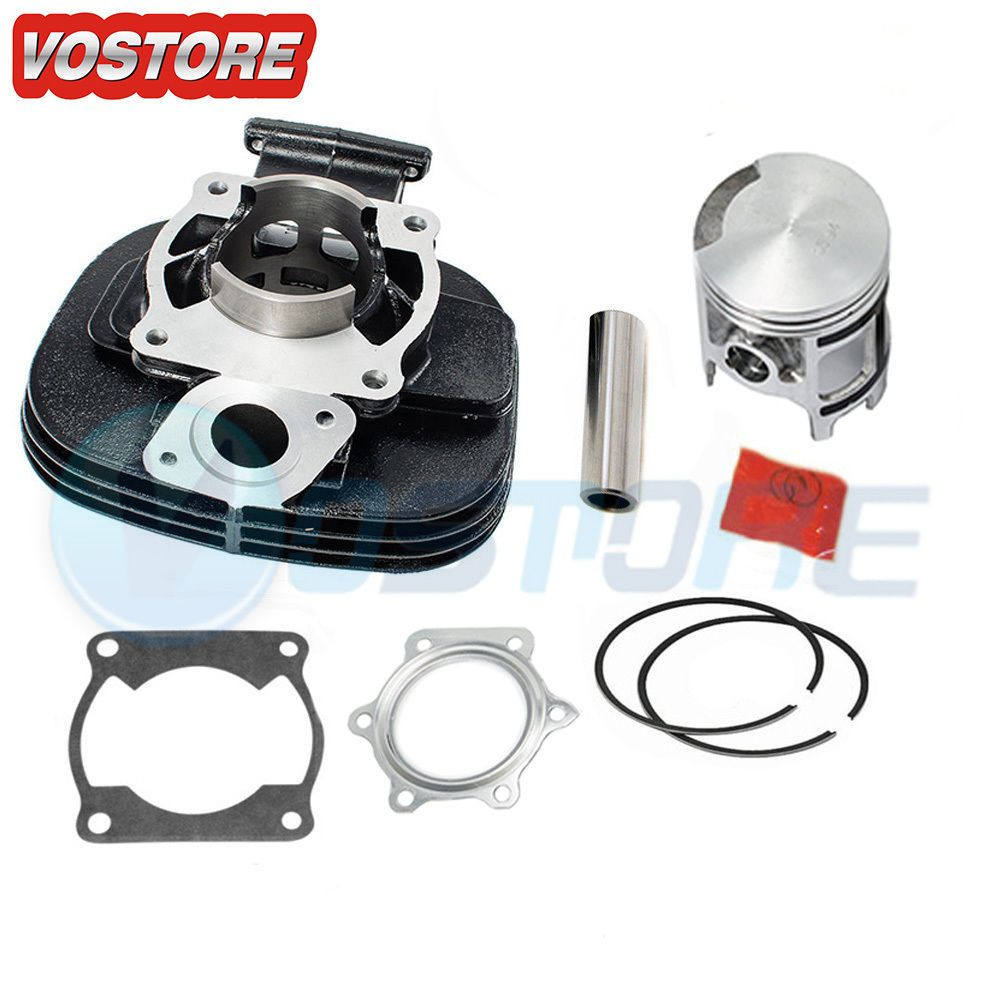 Cylinder Piston Gasket Top End Kit Set fit for 1988-2006 Yamaha Blaster 200 YFS 200