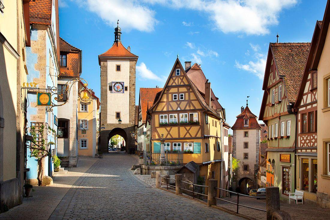 Rothenburg ob der Tauber (Bayern) Reisen, Deutschland
