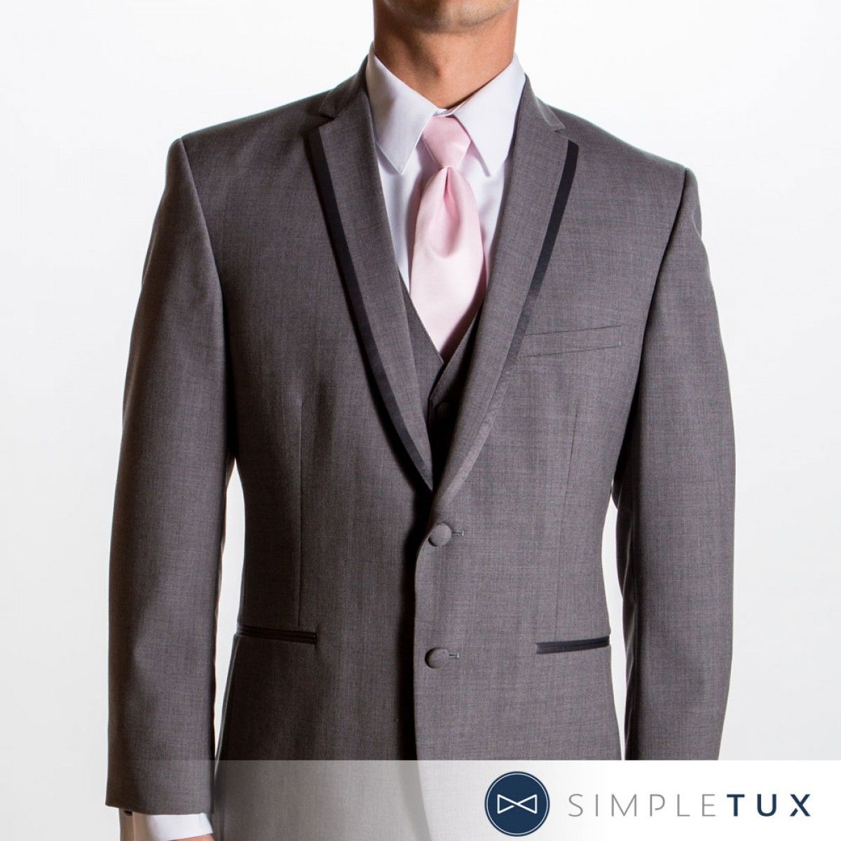 Gray Tux Wedding: Gray Tux With Pink - Google Search
