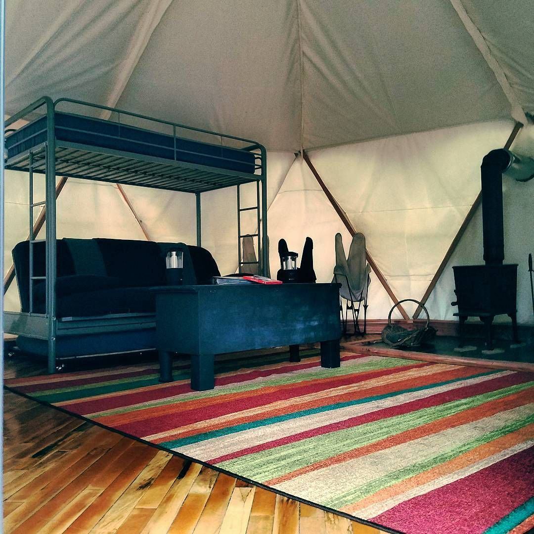 Sleep In A Yome Yurt Or Treehouse At Homegrown Hideaways Yurt Glamping Travelky Kentucky Vacation Hideaway Kentucky Camping