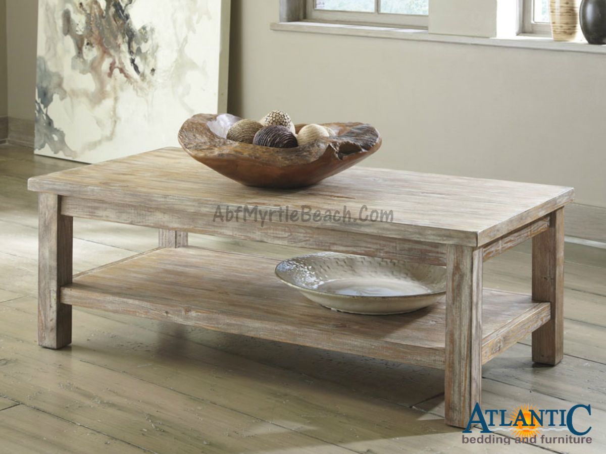 Rustic Accents Cocktail Table by Signature Design by Ashley T500 301