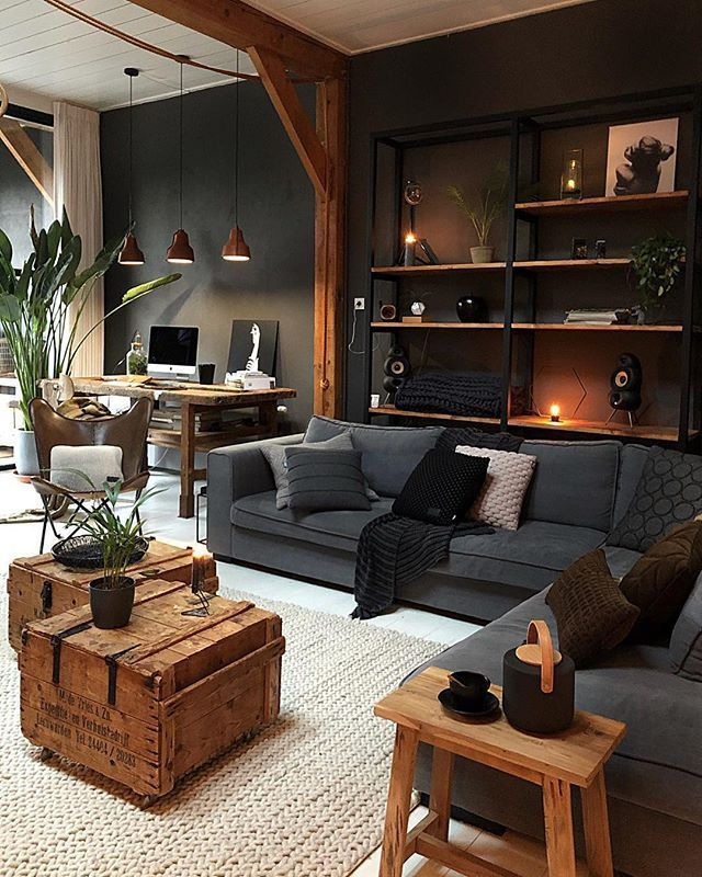 Photo of I really like this black wall! – #this #HomeDekoration #Ich #mag #S … – engagement decorations
