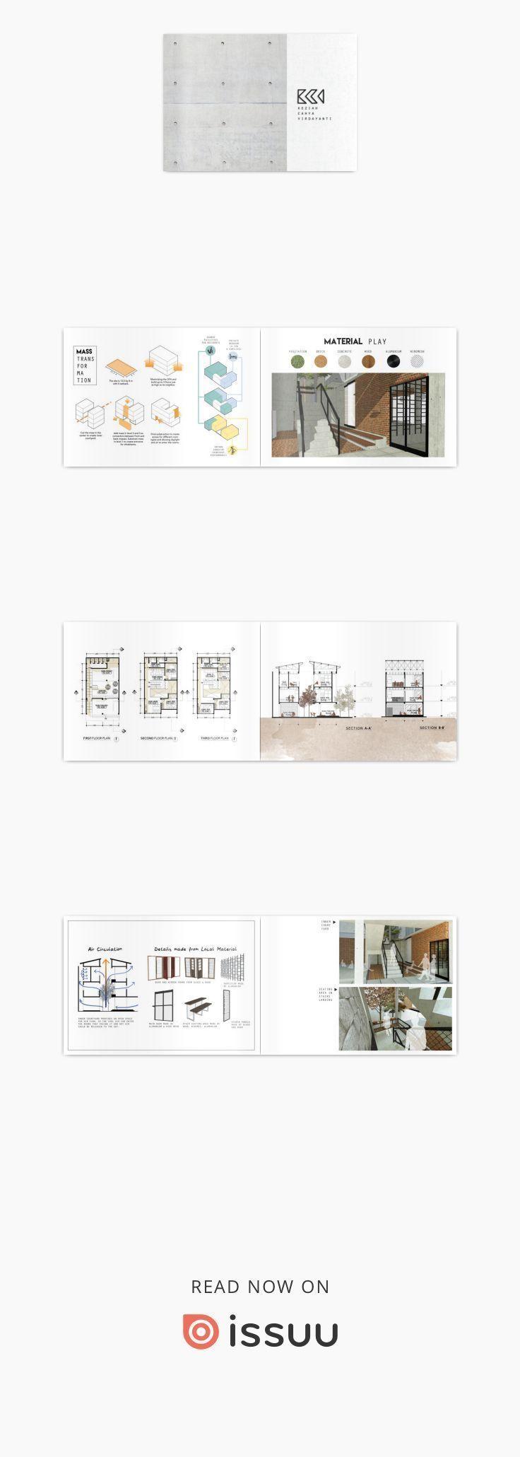 Architecture Portfolio 2017 Keziah Cahya Virdayanti's architectural design w... - Lauralee