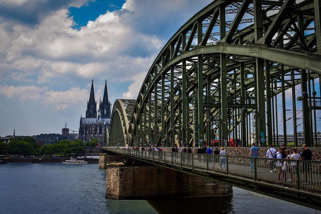 Cologne Koln Skyline Colognecathedral Kolnerdom Deutzerbrucke Deutz Zugbrucke Photography Photo Landscape Photography Landscape Sydney Harbour Bridge