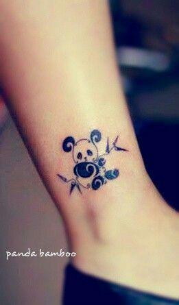 Bamboo Tattoo Tattoo Ideas Panda Tattoos Panda Bear Tattoo Tattoo