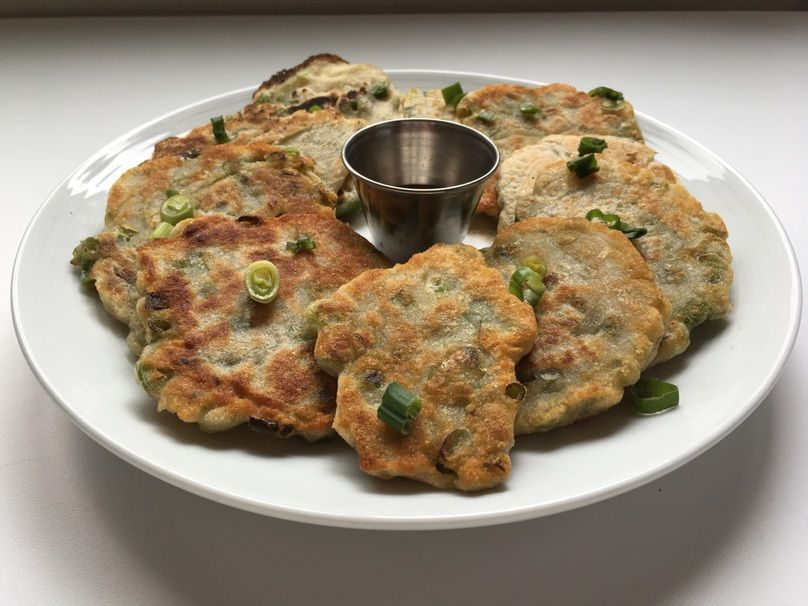 These 4-Ingredient Scallion Pancakes Will Make You Feel Like You're in Taiwan