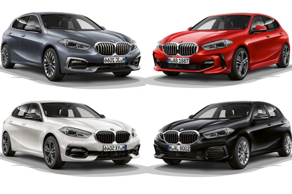 2019 Bmw 1 Series F40 M Sports Sport Line Luxury Line In Comparison Bmw 1 Series Bmw Personalized Car Accessories