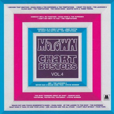 VA Motown Chartbusters, Vol  4 (1997) [FLAC] | 90s R&B, Soul, Funk
