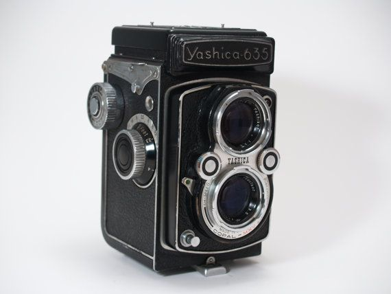Yashica 635 TLR. Great camera.
