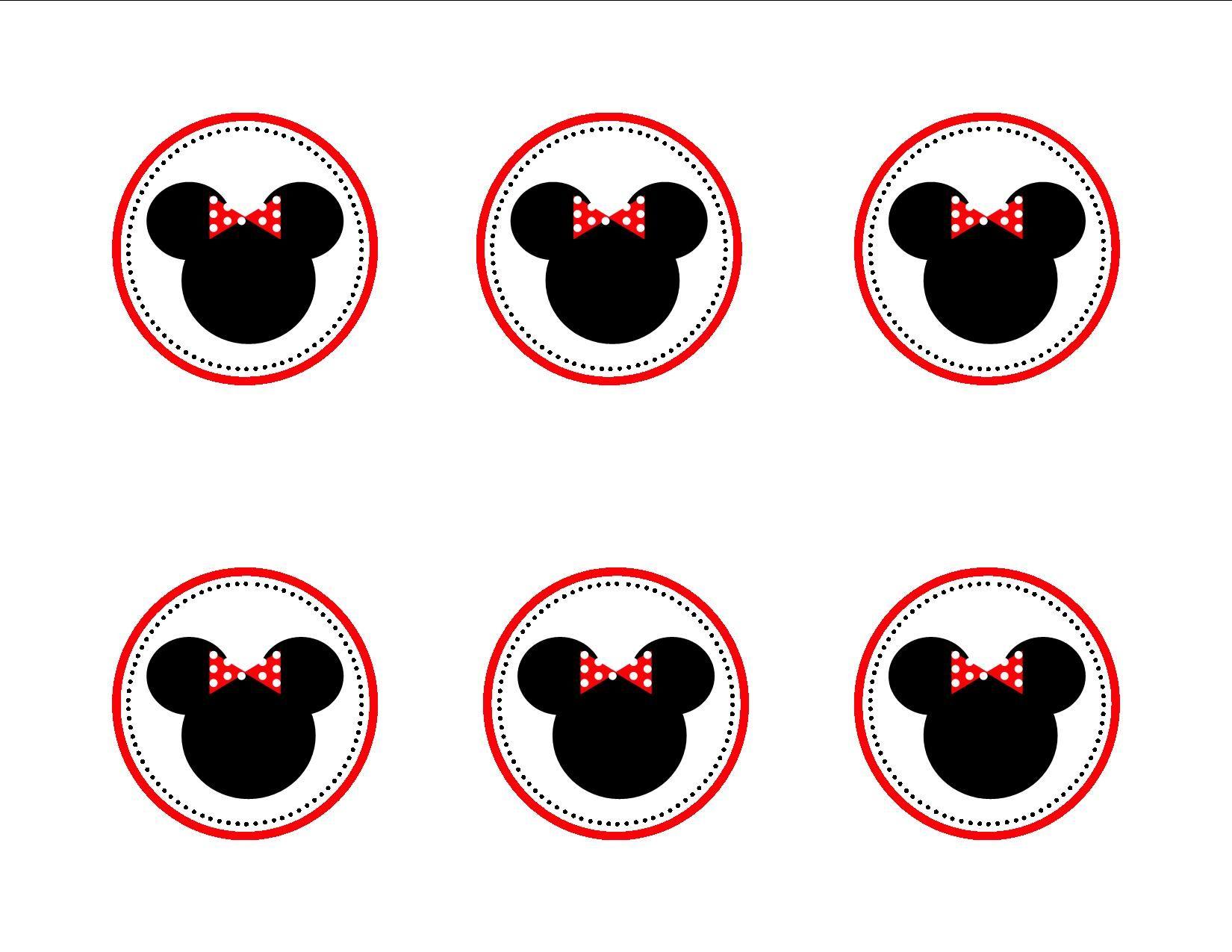 Rachel gibson minnie mouse cupcake topper templates can print it rachel gibson minnie mouse cupcake topper templates can print it too biocorpaavc